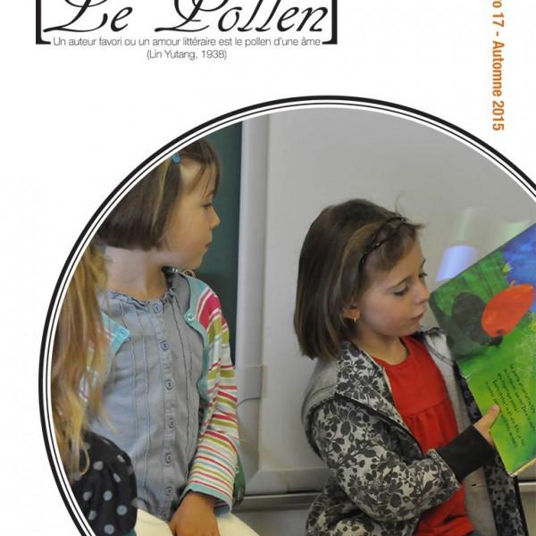 Le pollen no.17 - page couverture