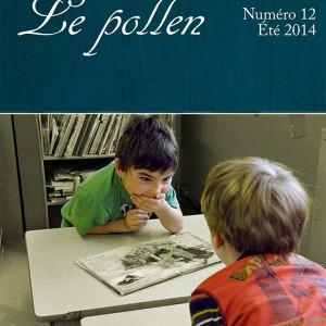 Le pollen no. 12 - page couverture