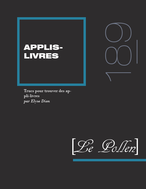 189 - Trucs pour trouver des applis-livres