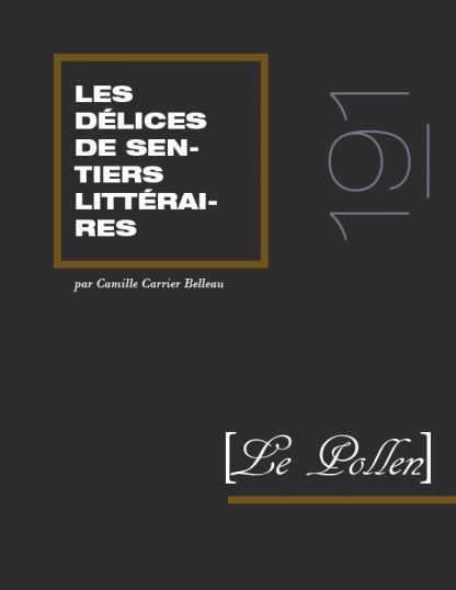 191 - Les délices de Sentiers littéraires
