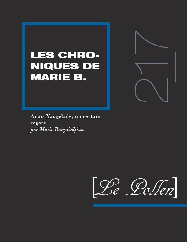 217 - Anaïs Vaugelade, un certain regard