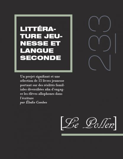 233 - Un projet signifiant et une sélection de 15 livres jeunesse portant sur des réalités familiales diversifiées afin d'engager les élèves allophones dans l'écriture