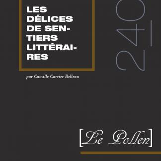 240 - Les délices de Sentiers littéraires
