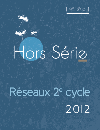 Hors serie - Reseaux 2e cycle - 2012 - page couverture