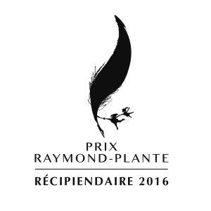 Logo Raymond-Plante : Récipiendaire 2016